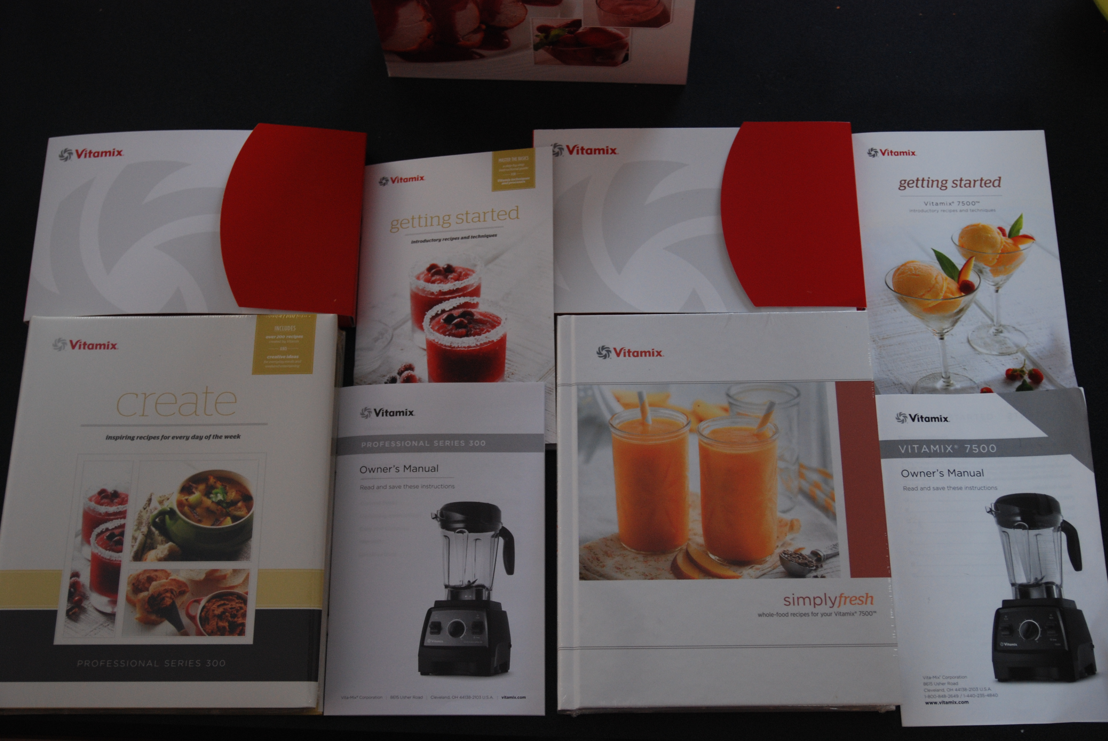 What is the difference between a vitamix 7500 and a vitamix the cookbook getting started guide and owners manual for the professional series 300 and vitamix forumfinder Images