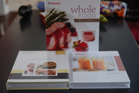 The cookbooks you get with various Vitamix blenders