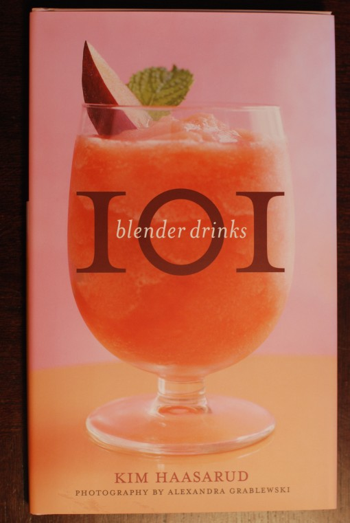 101 Blender Drinks book front cover photo