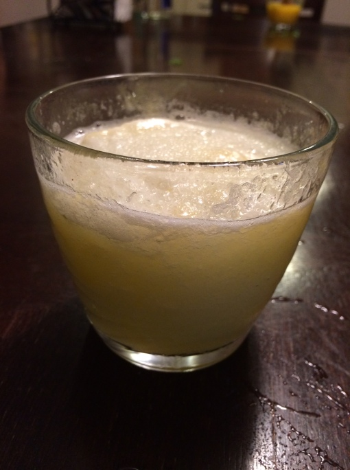 My Frozen Lime Margarita